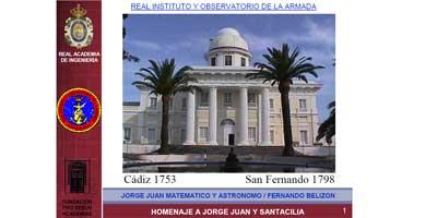 Jorge Juan Matemático y Astrónomo