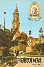 Revista Betania 1973, dedicada a Jorge Juan