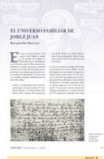El Universo Familiar de Jorge Juan, de Rosario Die Maculet