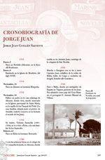 Cronobiografía de Jorge Juan, de Jorge Juan Guillén Salvetti
