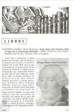 Reseñas de Libros sobre Jorge Juan
