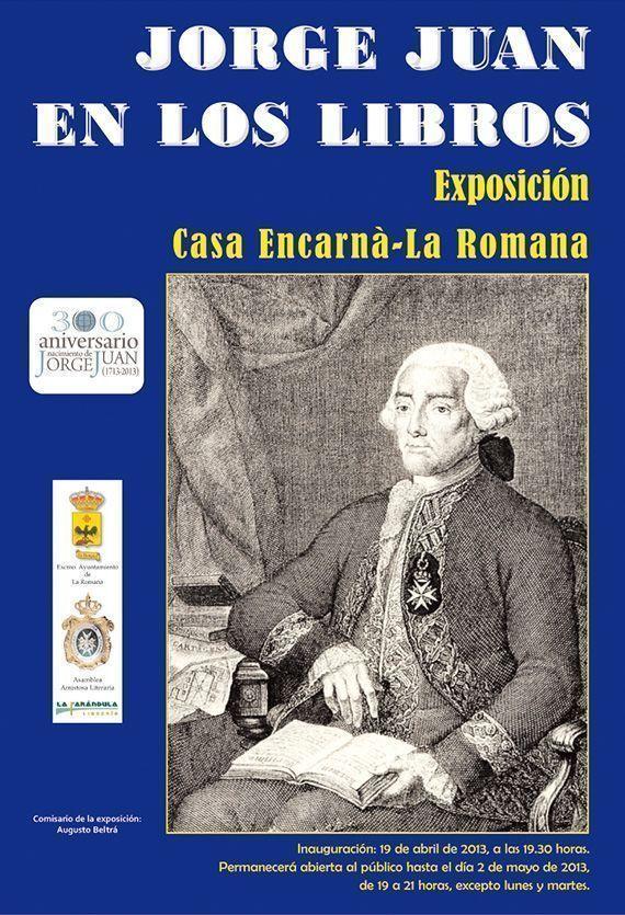 Exposición Jorge Juan en los libros