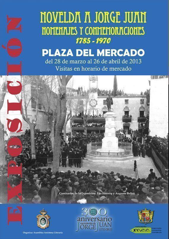 Exposición sobre Jorge Juan en el Mercado de Abastos