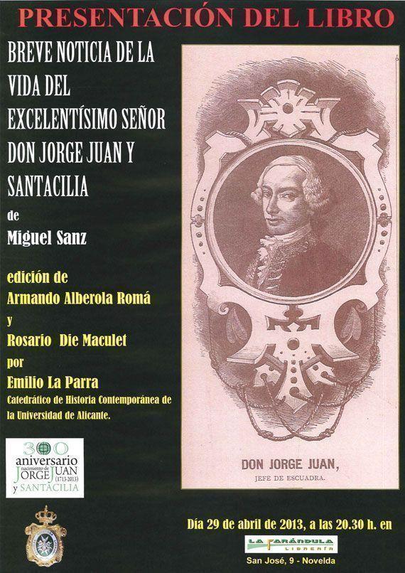 Presentación del libro Breve Noticia del Exmo. Sr. D. Jorge Juan y Santacilia