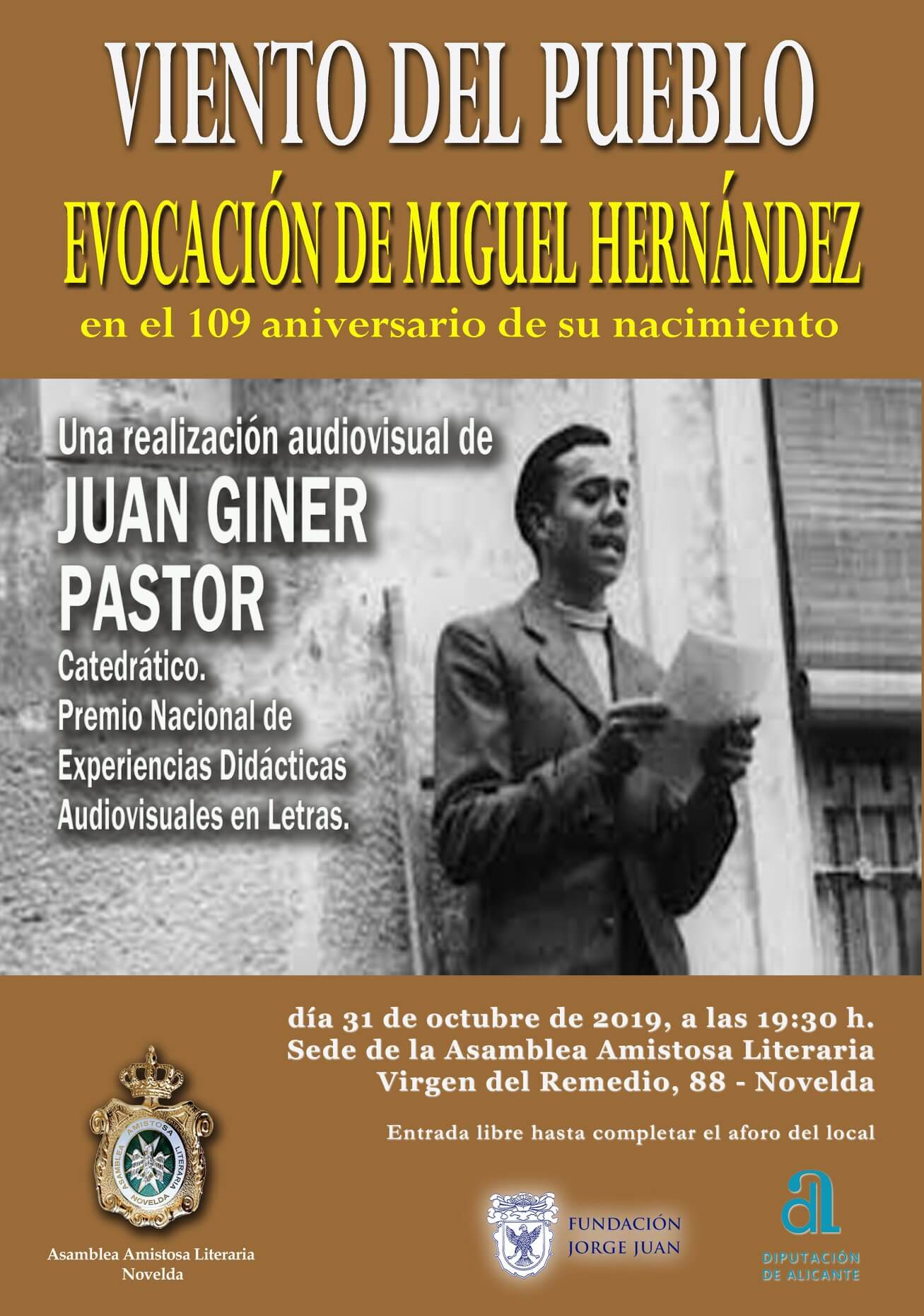 Viento del Pueblo - Evocación de Miguel Hernández