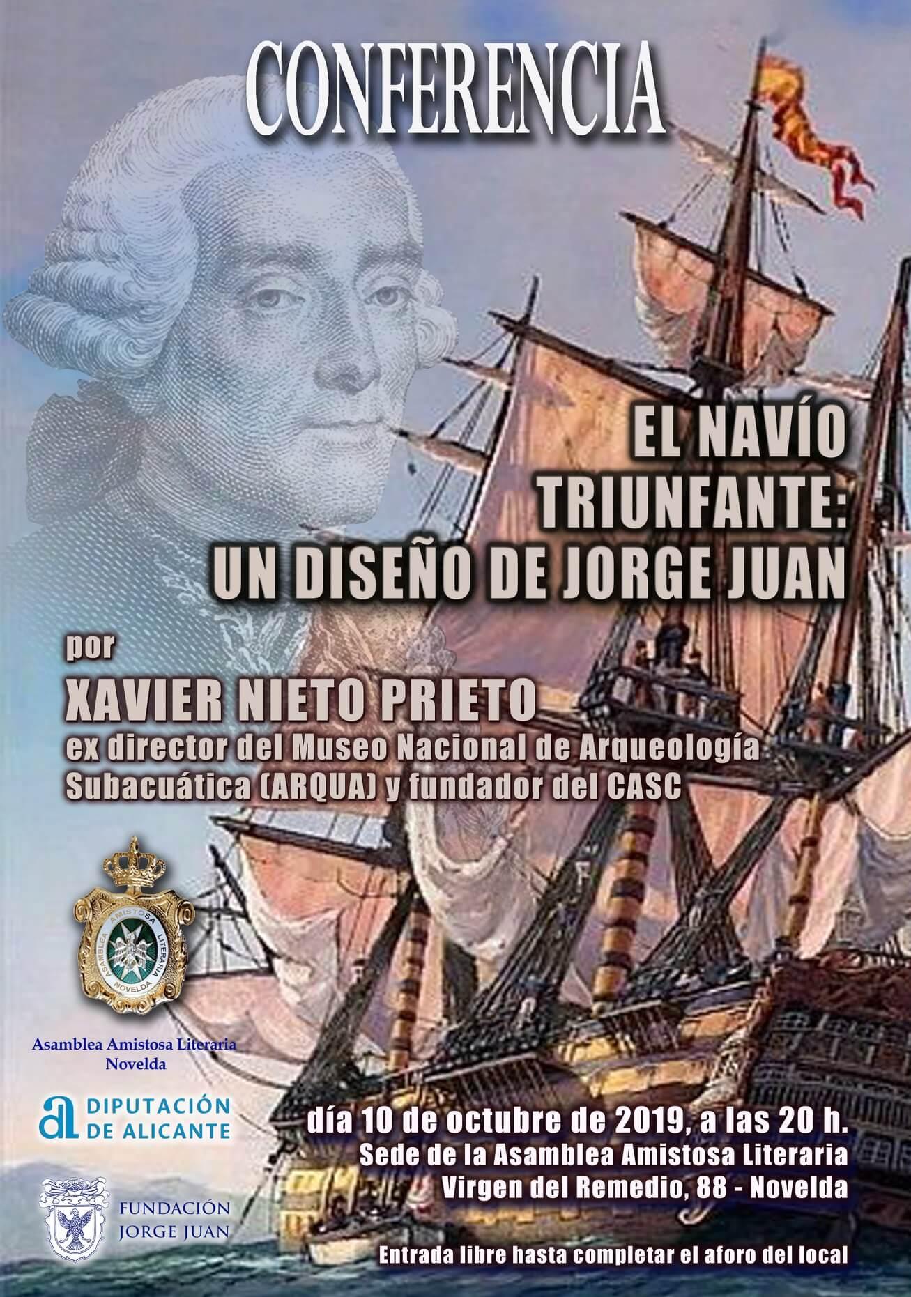 El navío Triunfante: un diseño de Jorge Juan