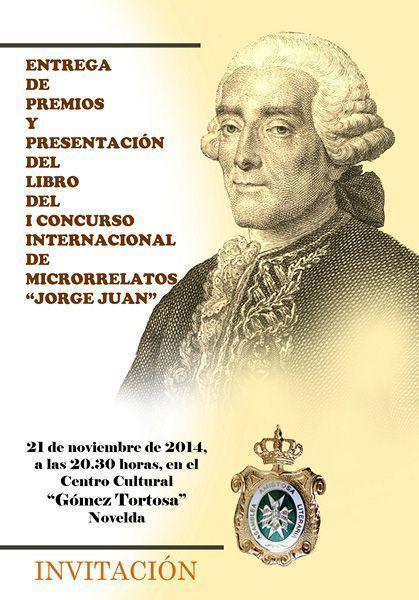 """Entrega de premios del I Concurso Internacional de Microrrelatos """"Jorge Juan y Santacilia"""""""