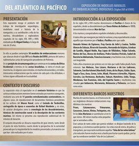 """Exposición """"Del Atlántico al Pacífico"""""""