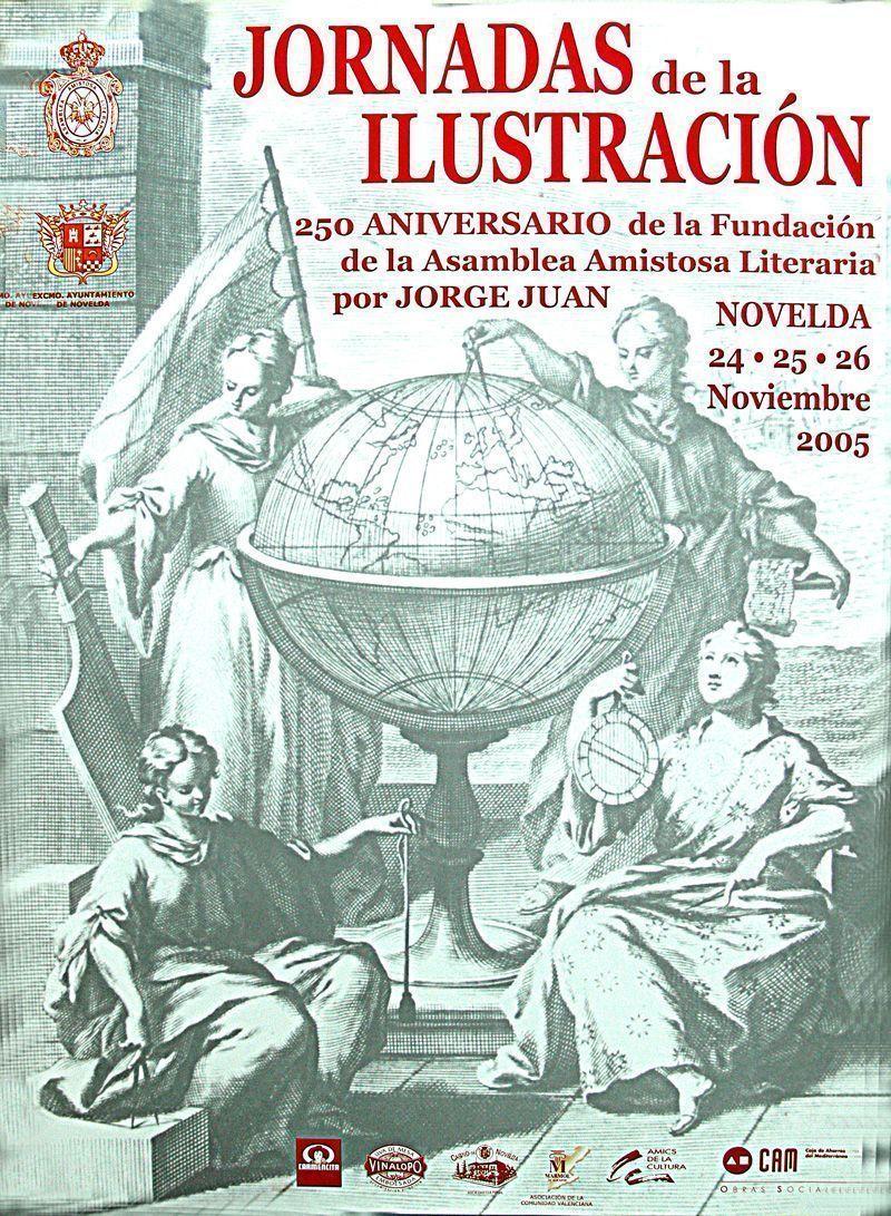 Cartel I Jornadas de la Ilustración ( 2005 )