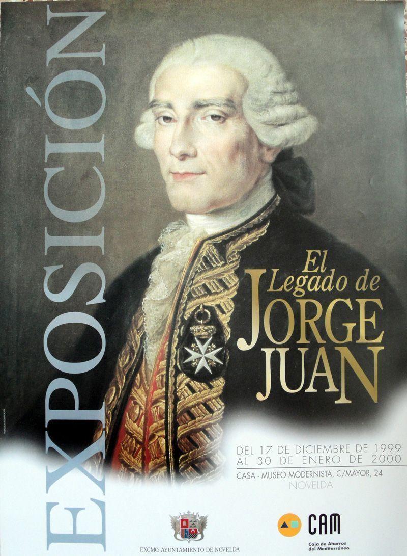 Cartel Jornadas El Legado de Jorge Juan