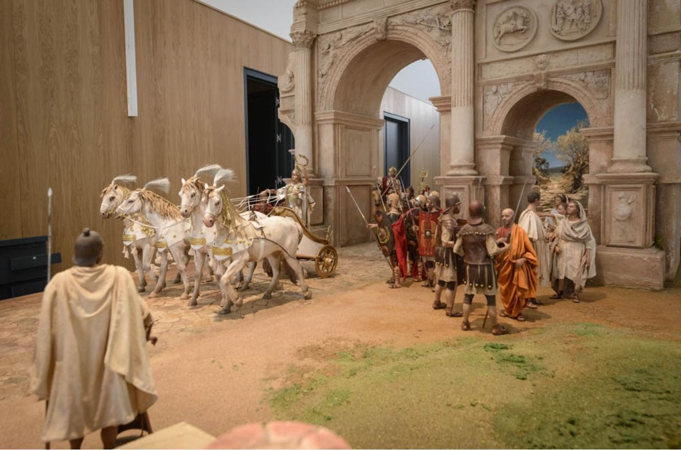 Una obra de la asambleísta Alicia Boyer, en el Museo Internacional de Belenes más grande del mundo