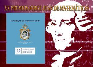XX PREMIOS JORGE JUAN DE MATEMÁTICAS