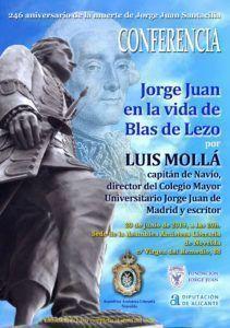 CONFERENCIAS PARA EL CONFINAMIENTO: JORGE JUAN EN LA VIDA DE BLAS DE LEZO