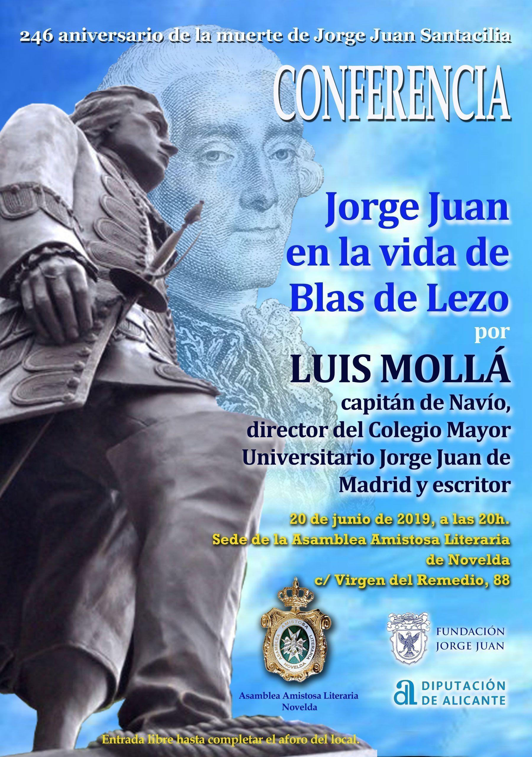 Jorge Juan en la vida de Blas de Lezo