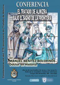 CONFERENCIA SOBRE EL TRATADO DE ALMIZRA  por MANUEL BENÍTEZ BOLORINOS