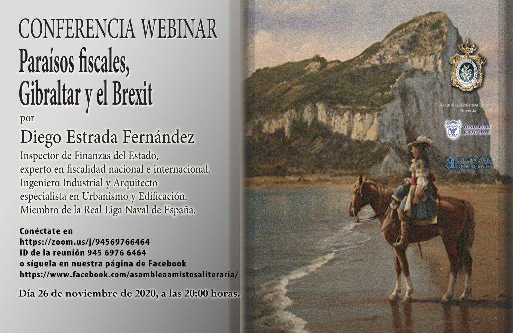 CONFERENCIA: PARAÍSOS FISCALES, GIBRALTAR Y EL BREXIT