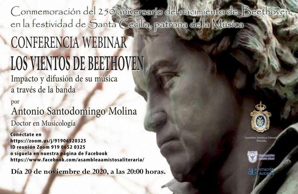 """CONFERENCIA """"LOS VIENTOS DE BEETHOVEN"""""""